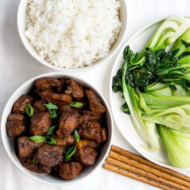 Chinese Braised Pork Shoulder