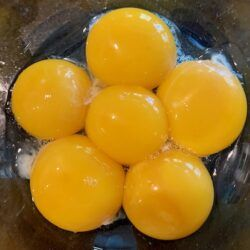 pot de creme egg yolks