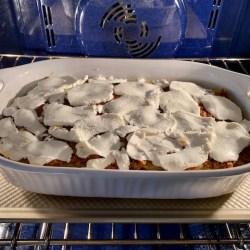 A.B. Lasagna bolognese baking