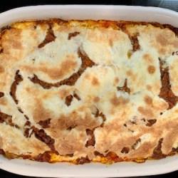 A.B. lasagna bolognese
