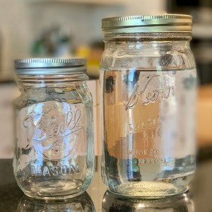 Guide to Infusing spirits mason jars