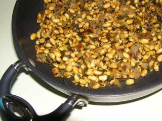Soybean Kura (Sauteed Soybeans)