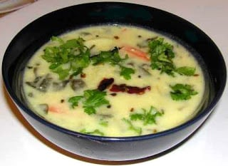 Majjiga Pulusu with Greens