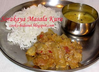 Bottle Gourd Masala Curry