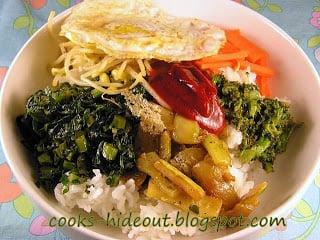 Vegetarian Bi Bim Bap