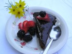 Chocolate Cake with Chocolate Ganache