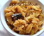 Simple Cabbage Curry