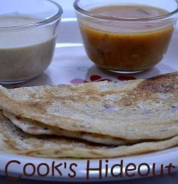 Savory Indian Crepes