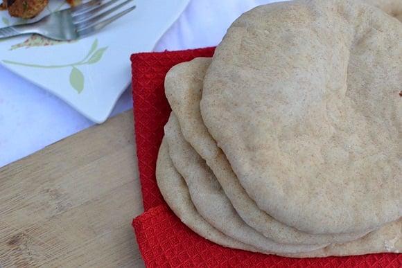 Baked Pita Bread