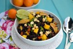 Black Rice Salad with Mangoes & Tangerines