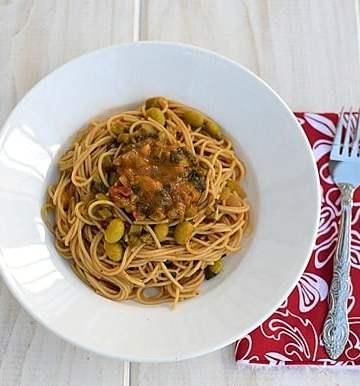 Vegan Spicy Pasta