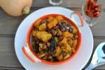 Bengali Butternut Squash & Chickpea Curry (Kumror Chakka)