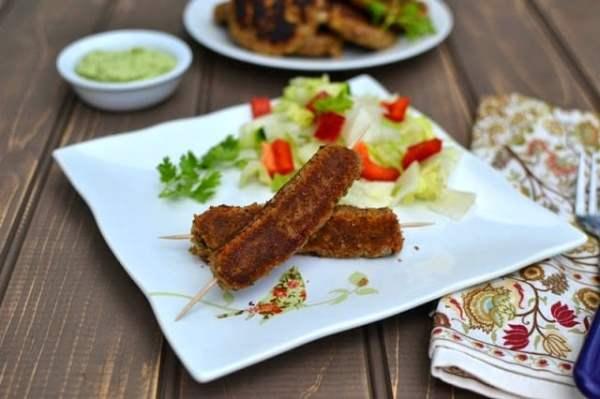 Chana Dal Kebabs (Vegetarian Kebabs with Chickpeas)