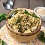 Kakarakaya Nuvvulannam (Bitter gourd-Sesame Rice)