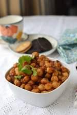 Kelli Chana (Spicy Chickpea snack)