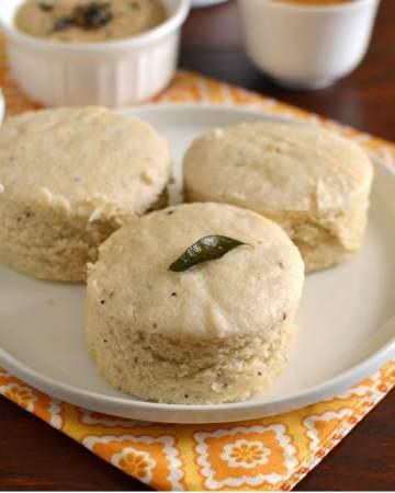Breakfast Thali from Tamil Nadu