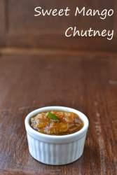 South Indian style Sweet Mango Chutney