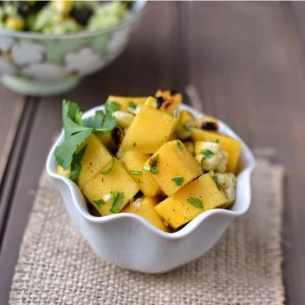 Mango & Roasted corn Salsa