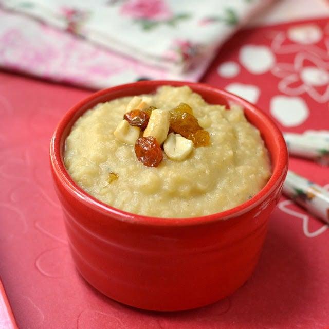 Foxtail Millet Payasam (Korrala/ Thinai Payasam)