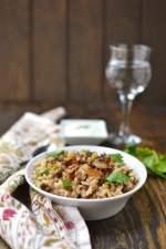 Mujadara (Rice & Lentils dish)
