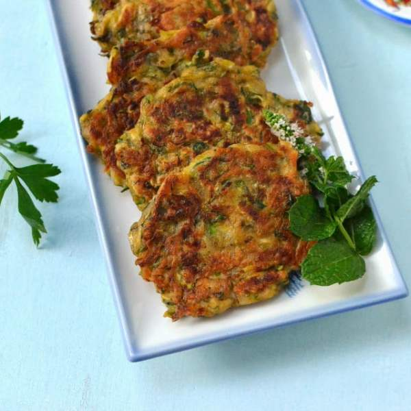 Mücver -- Turkish Zucchini Fritters