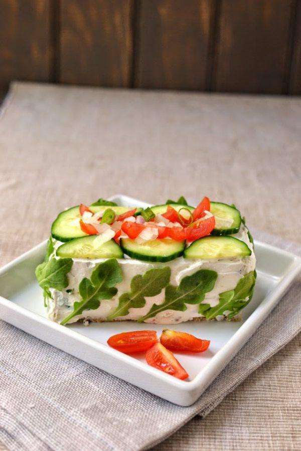 Smörgåstårta - Swedish sandwich cake
