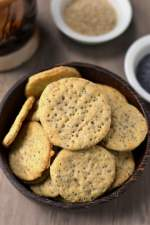 Poppy & Sesame Seeds Crackers