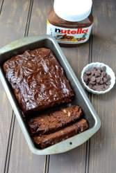 Nutella Chocolate Quick Bread