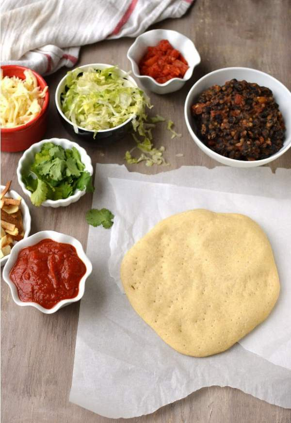 Pizza Dough with Semolina