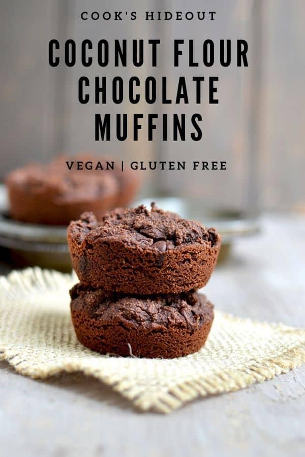 Coconut flour Chocolate muffins
