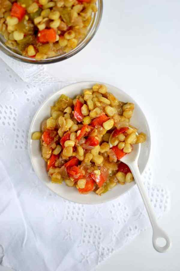 Corn and Pepper Relish