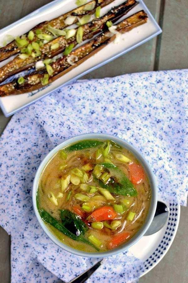 Japanese Miso Noodle Soup