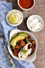 Mexican Vegetarian Chilaquiles