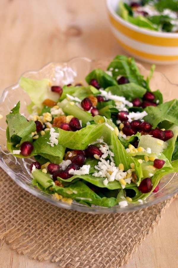 Moong dal Salad (Vadapappu Salad)
