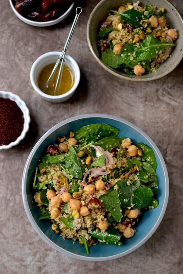 Quinoa Salad with Pistachios & Dates