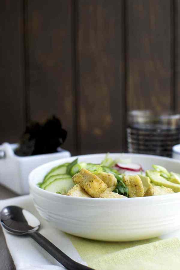 Brown Rice Bowl with Tofu & Veggies