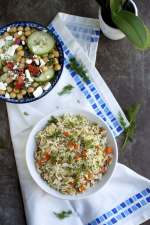 Greek Lemony Dill Rice
