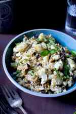Freekeh & Roasted Cauliflower Salad