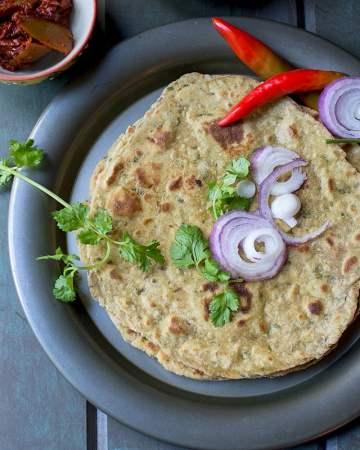 Spicy Maharashtrian Flatbread