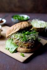 Indo Chinese Vegetarian Burger Recipe