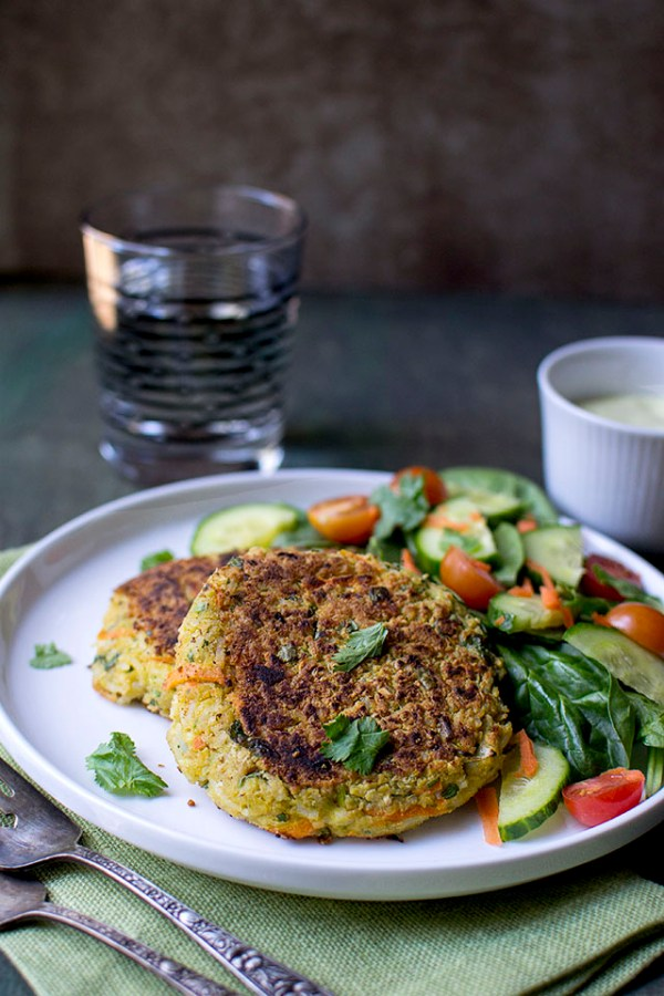 Curry Chickpea Burger Recipe (Vegetarian)