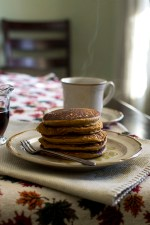 Pumpkin Pancakes (Vegan Recipe)