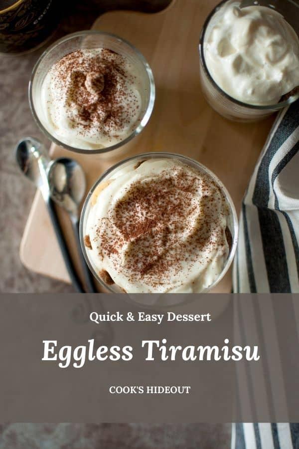 Quick Tiramisu