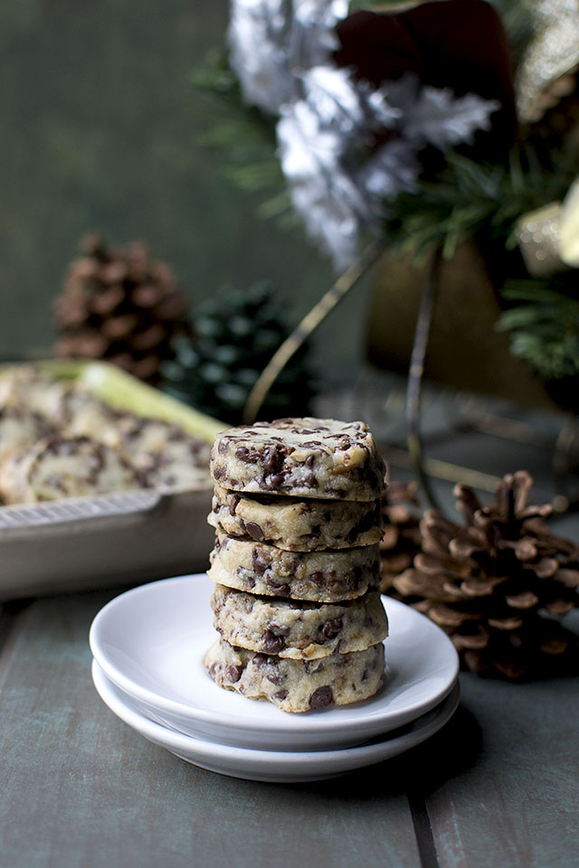 Chocolate Chip Toffee Shortbread Cookies Recipe Cook S