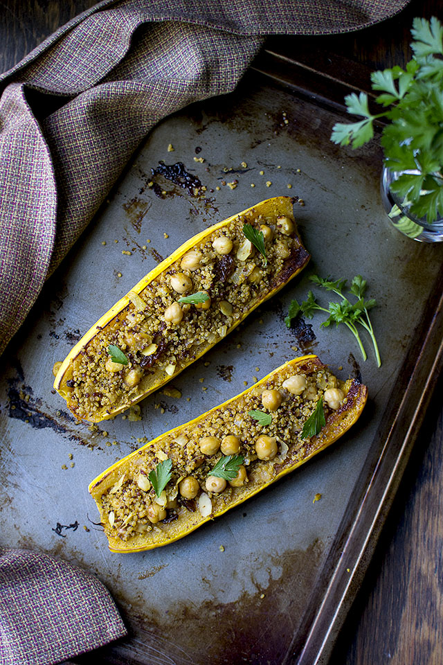 Stuffed Delicata Squash recipe