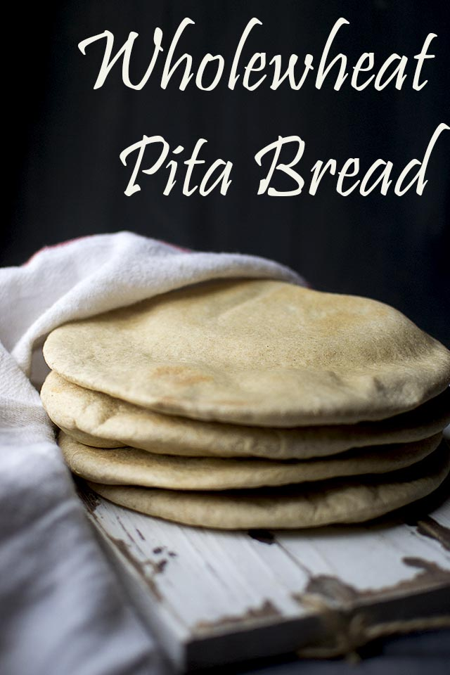 Wholewheat Pita Bread Recipe