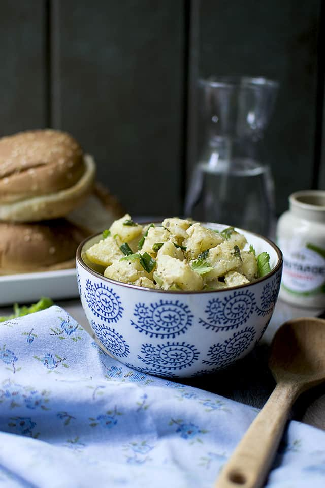 Mustard and Herbs Potato Salad