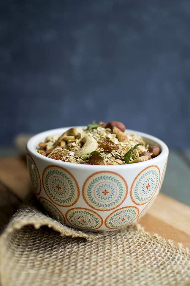 Chiwda with Quick Oats