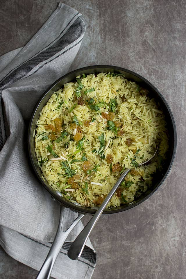 Vegetarian Curried Rice