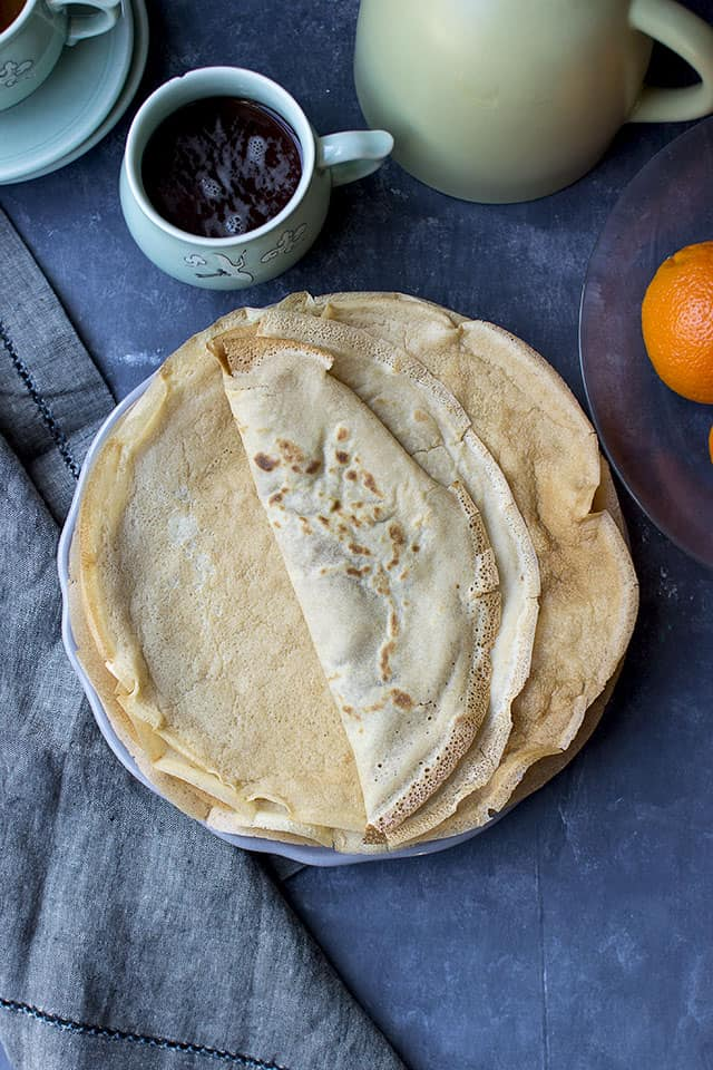 Wholewheat French Crepes